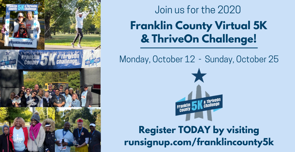 Register for the 2020 Virtual Franklin County 5k!